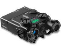 Steiner Optics - Civilian eOptics - DBAL-A3 Dual Beam Aiming Laser Advanced General-Purpose Multi-Function Laser Sight with Visible and IR Beams and Infrared LED Illuminator, Green Laser, Black